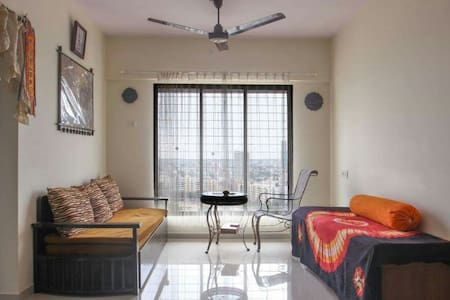 Charming 2 BHK in Paradise-WiFi/Kitchen - Mumbai - Lakás