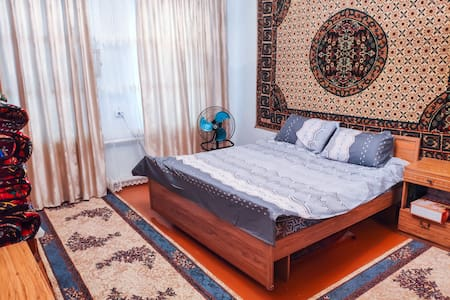 Cozy home at Kyzyl-Kiya | Free Wi-Fi | Park rearby