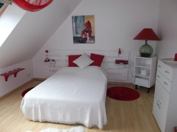 (Deux) Chambres à louer à Fontevraud