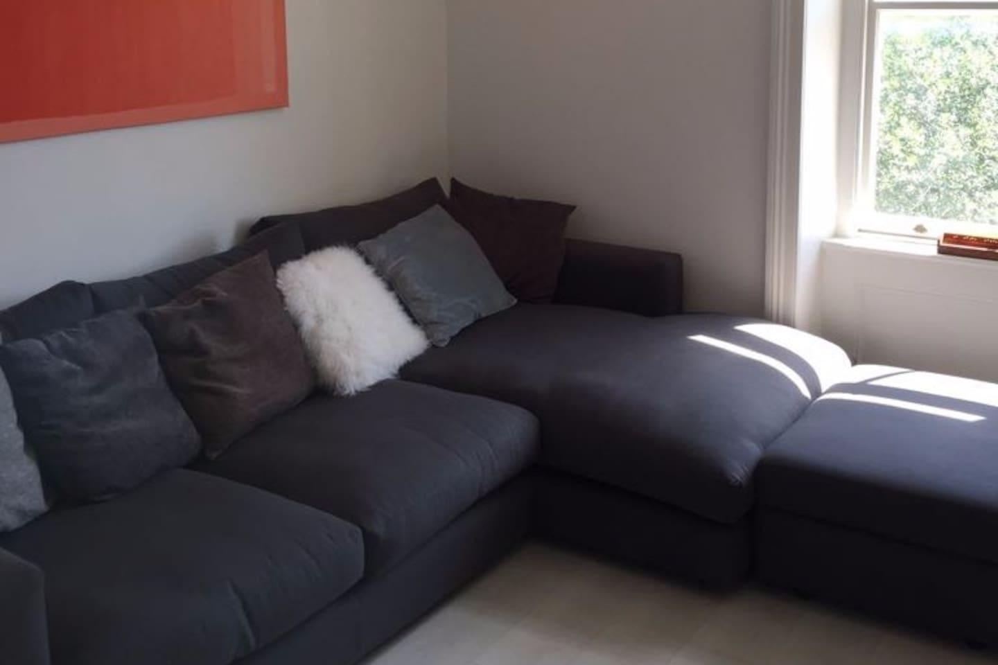 Lovely comfortable sofa to make your stay wonderful
