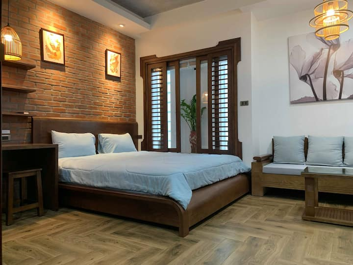 Oriental studio in Ba Dinh near West Lake & Lotte