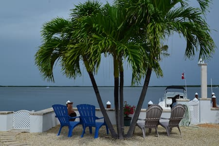 BAYFRONT BEAUTY COTTAGE, AMAZING SUNSETS,RELAX!!!! - Key Largo