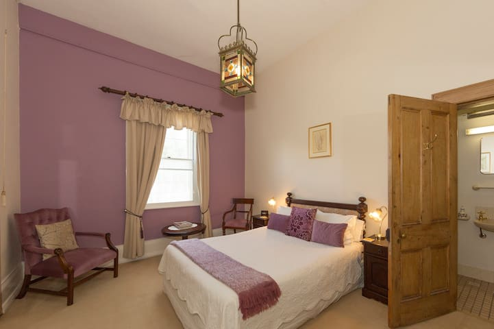 Downstairs Queen room with ensuite.