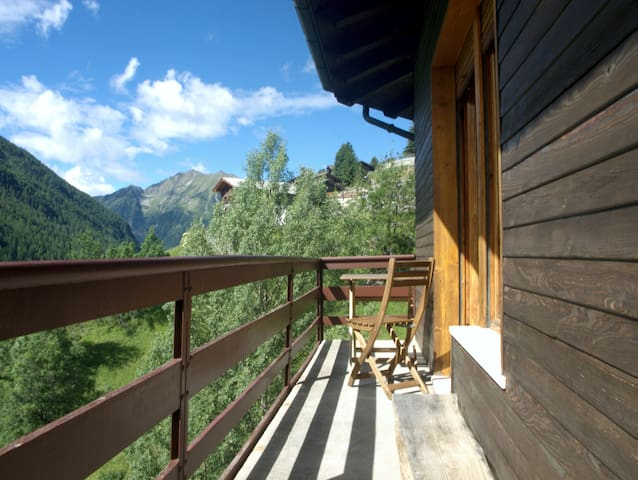 Valle d'Aosta - Bonjour au soleil- Champoluc