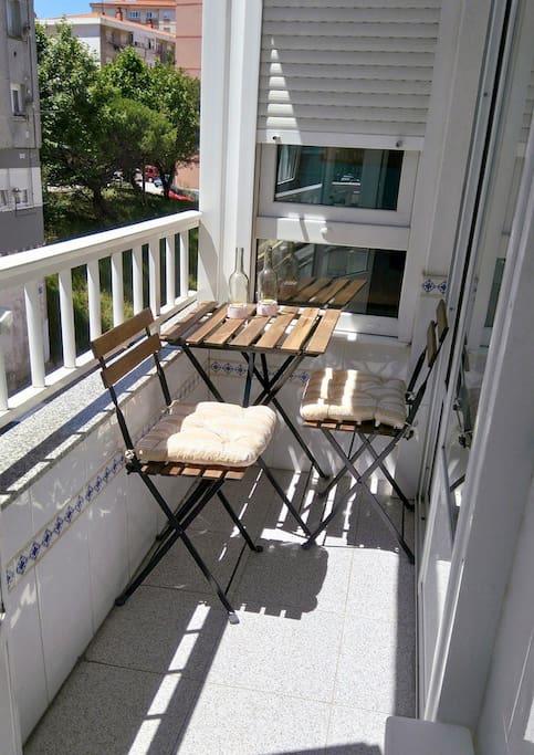 Pequeño balcón al sur