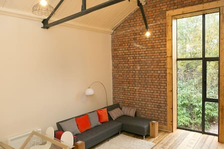 City centre luxury loft-style apartment sleeps 4 - Cardiff - Pis