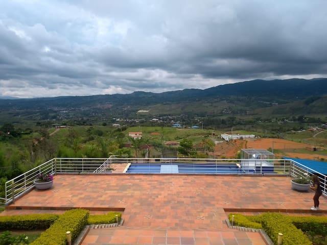 Casa de Recreo en El Carmen-Valle del Cauca