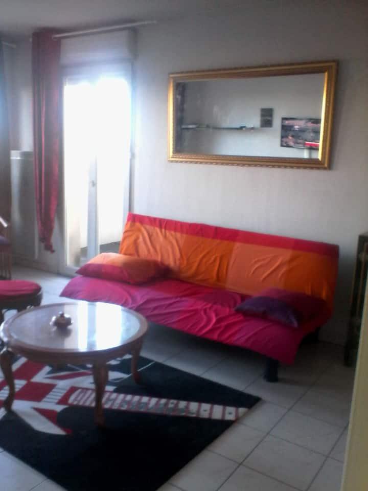 appartement T2 à proximité de la gare st jean BDX