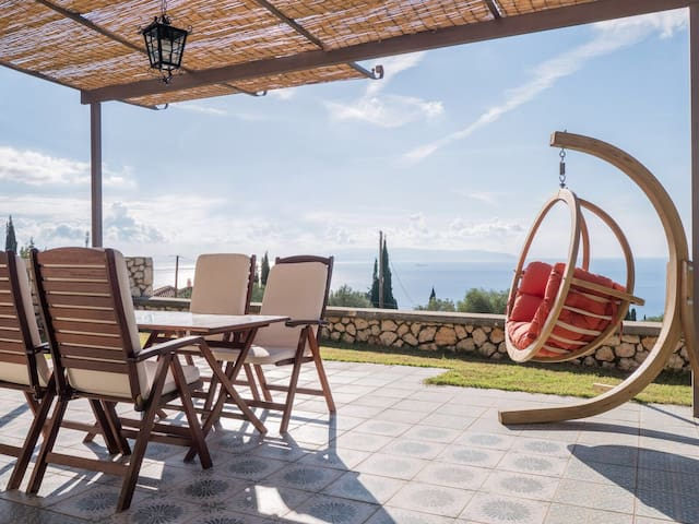 Brand new villa Azure at Trapezaki