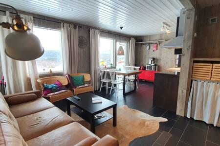 Modern mysig lodge i Kittelfjäll
