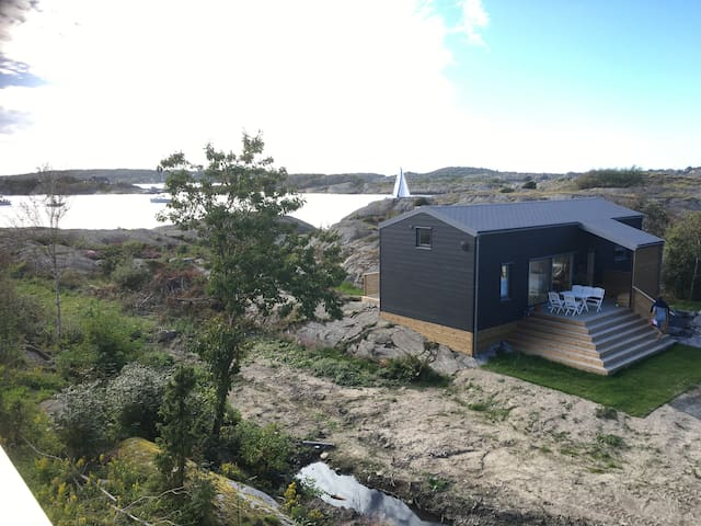 Knarrholmen - Newly built house with a sea view - Gothenburg - Ev