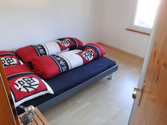 Zimmer mit Doppelbett - Zizers - Leilighet