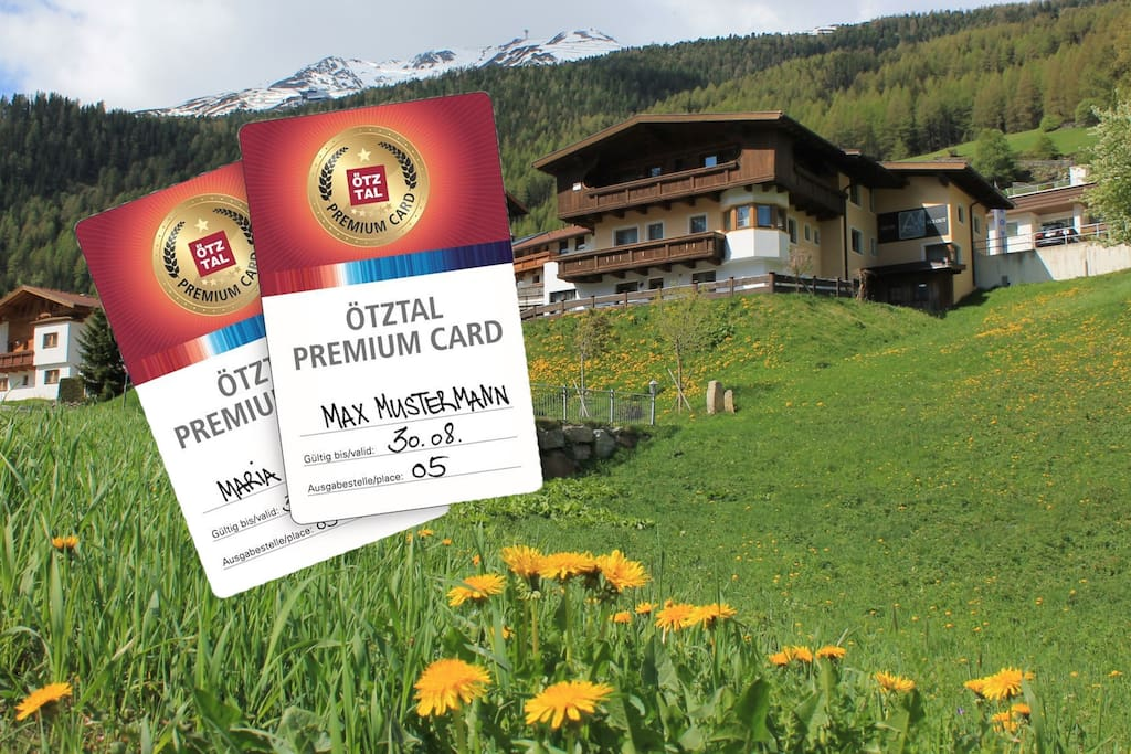 Ötztal Premium Card included in summer!