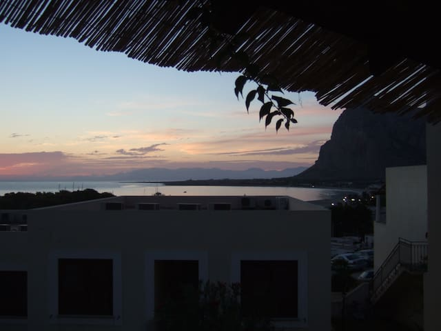 Sea house with terrace & pool in San Vito Lo Capo