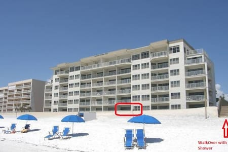 MAZING-1st Floor 3B3B-Facing Gulf Ocean!No Stairs! - Fort Walton Beach - Társasház