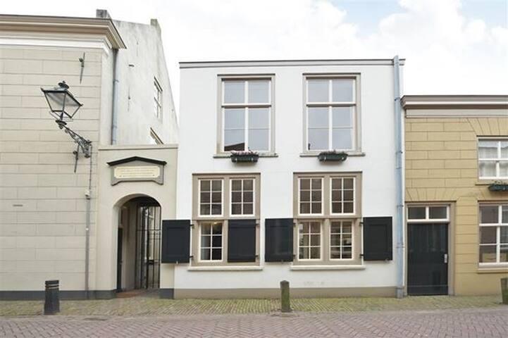 Karakteristieke woning in hartje Den Bosch