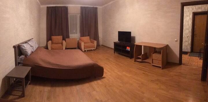 Гостевая однокомнатная квартира, Лобня  -  а/э SVO