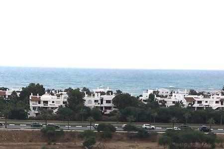 Vue splendide sur la Méditerranée - Plage Kabila, Tetouan, Tanger