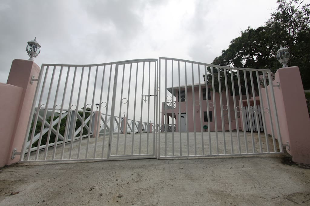 Secure Gate Entrance