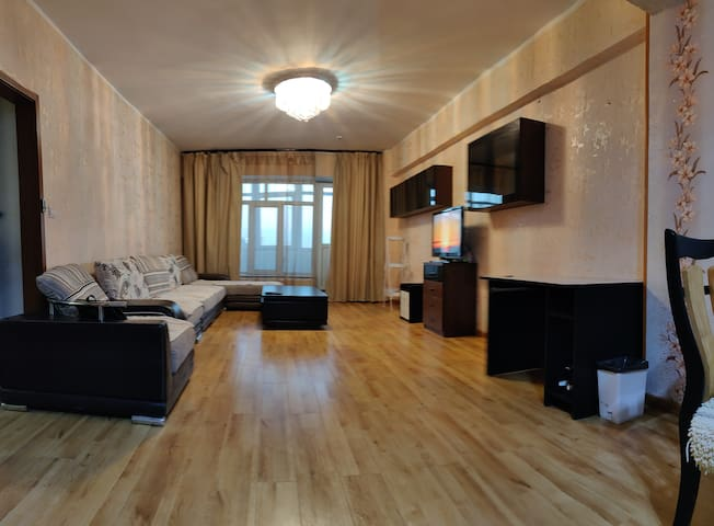 Center located spacy comfy apartment
