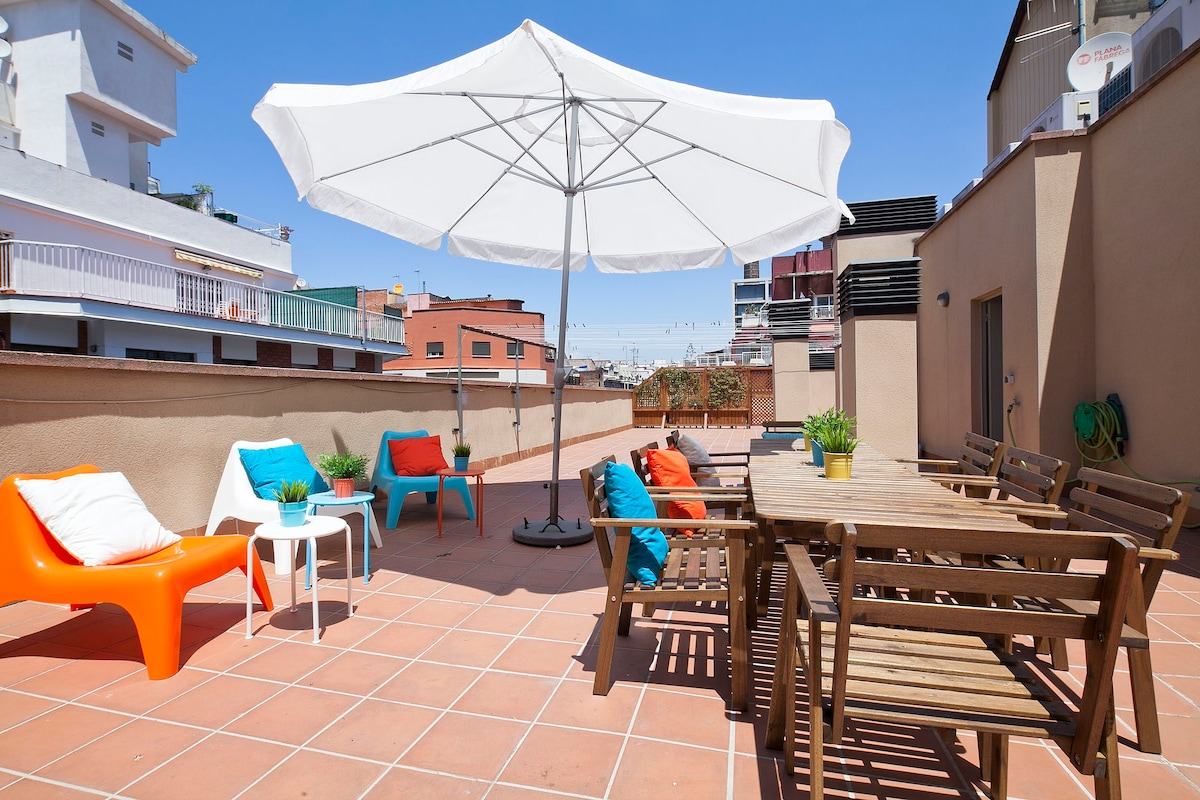 Modern bright apartment, with huge terrace ! - Apartments for Rent ...