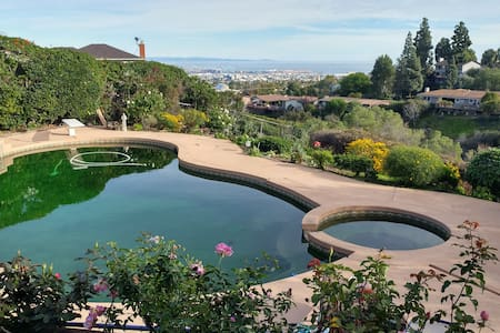 Pool & Hot Tub Privacy Pets Welcome - Rancho Palos Verdes