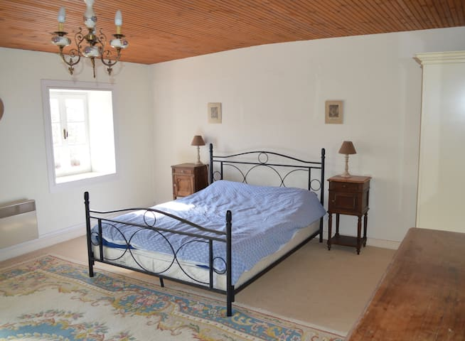 Five double-bedroomed sprawling country farmhouse - Loulay - House
