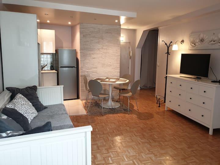 Appartement 2 pièces au cœur de Fontainebleau