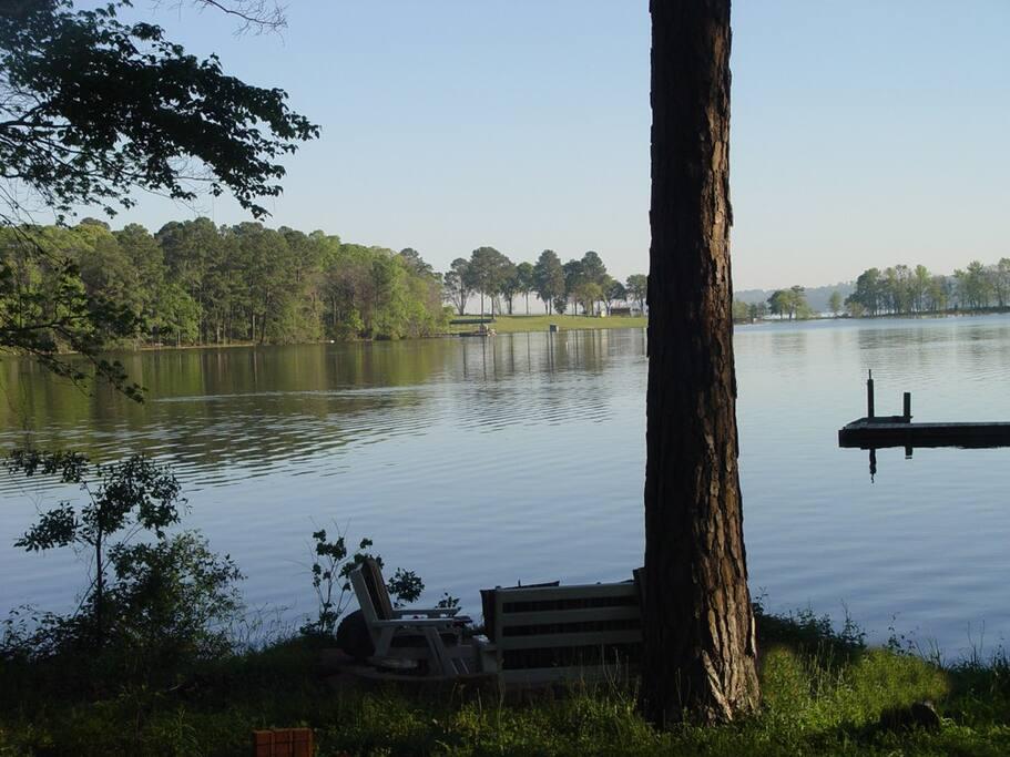 Lakeside Patio Views