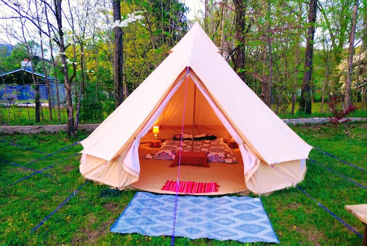 The Outdoor Inn Glamping suite#6 (Mountain Sunset)