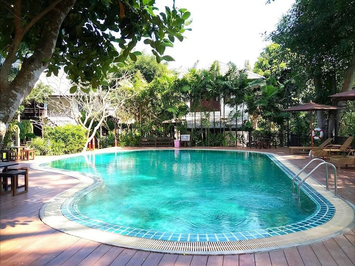 ⭐Lanna Country Resort 20BR w/ Pool & Breakfast