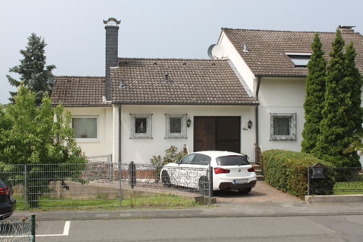 Ferienhaus Bergblick Siebengebirge, 90 qm, Garten