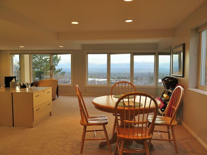 Mountain Views - Bright Lower level Apartment-