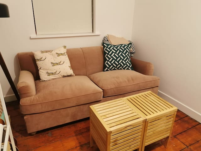 Comfortable sofa bed in Central Dublin location
