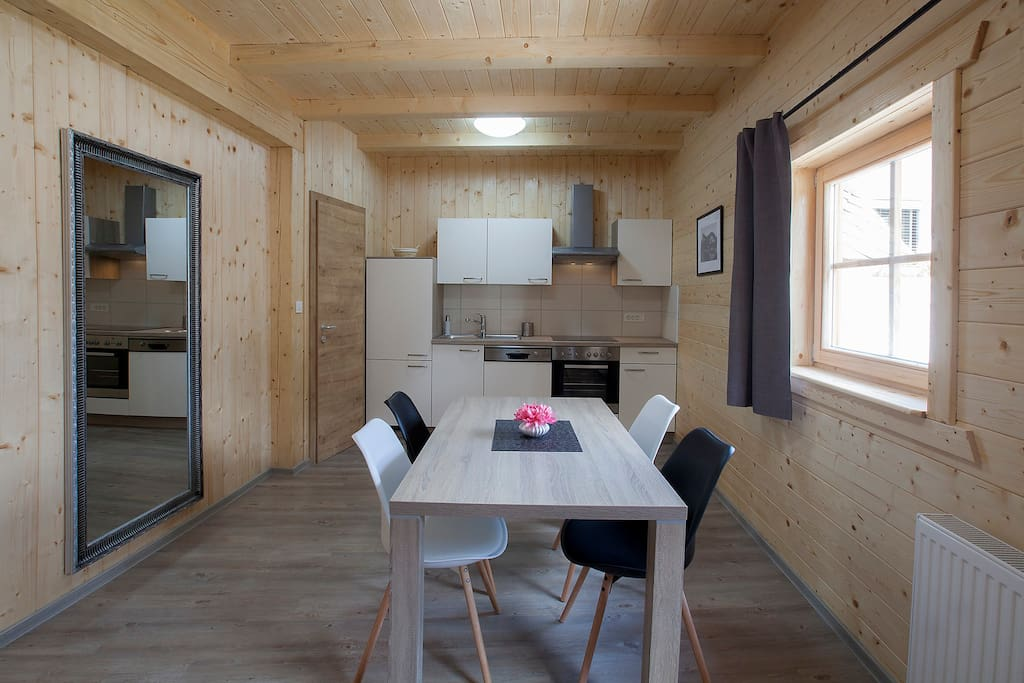 Do you need to prepare a lunch, no worry, there is full equipped kitchen with everything you need...