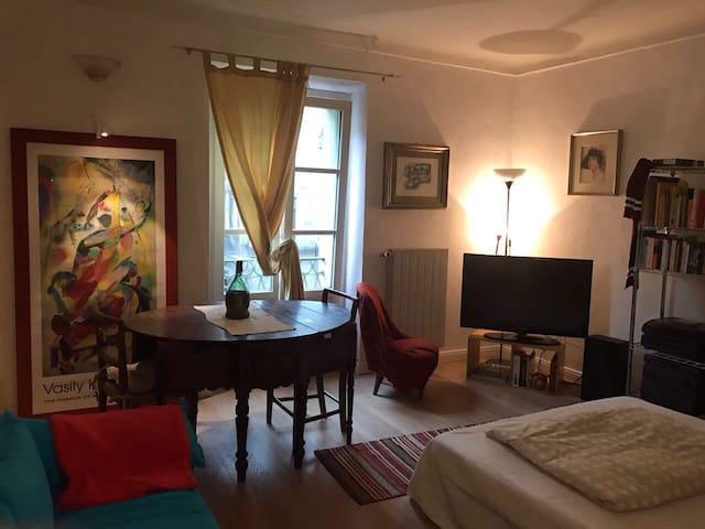 A casa di Tally in centro a Torino