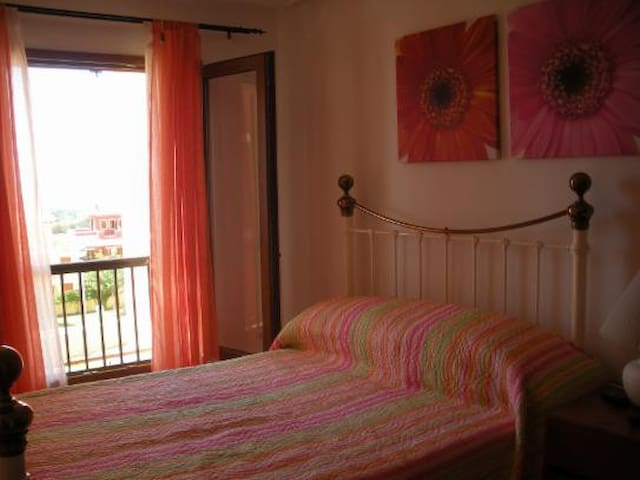 Beautiful rooms...wake up to a stunning view!