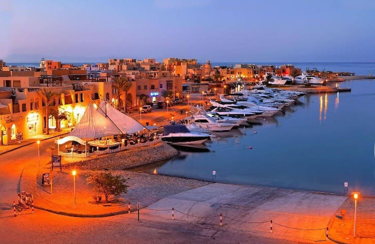 1 bd Apt- WestGolf. GF On POOL DIRECTLY EL GOUNA