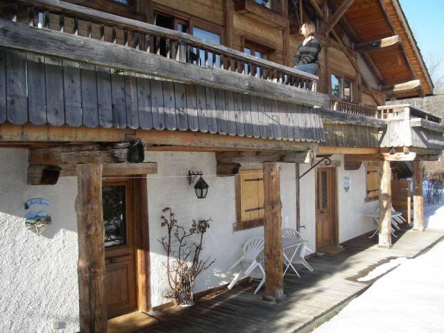 Studio en chalet Le Mont Charvin - Flumet - Lägenhet