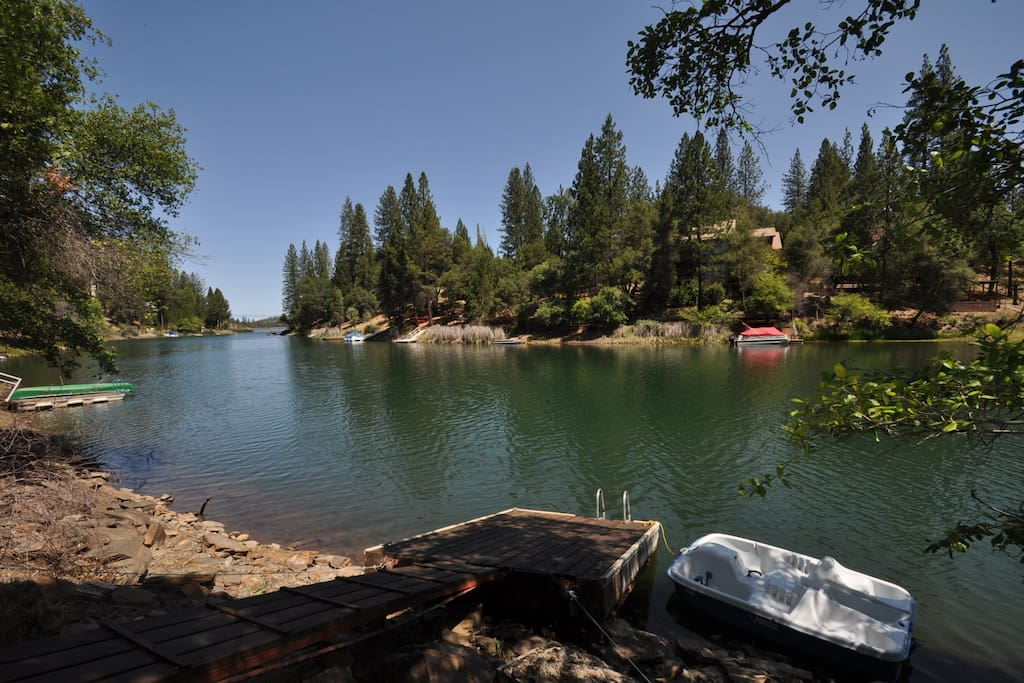 Unit 15 Lot 83, Lakefront Pine Mountain Lake Vacation Rental The Big Easy, Private Dock, 1-Canoe, 1-Paddleboat, 2-Kayaks, Near Yosemite