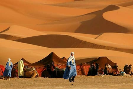 Camp with Trips Around Morocco - Merzouga - Tent