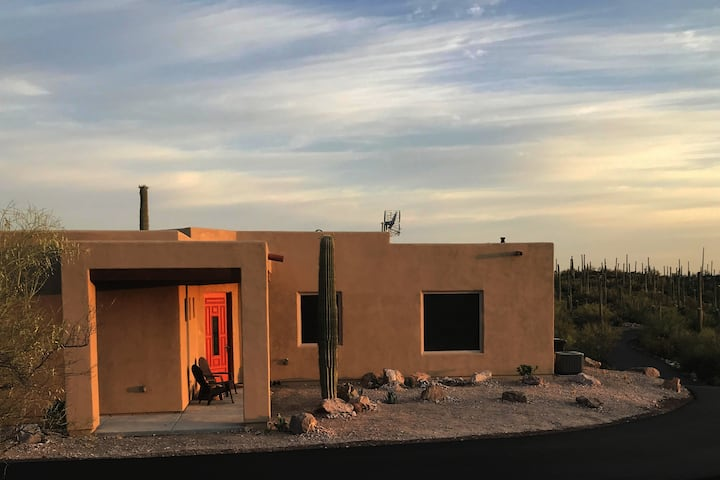 Private Casita on 3.5 acres in Tucson's westside