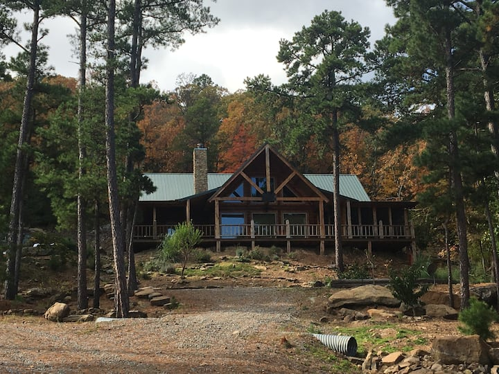 Mountainside Cabin on Sardis Lake