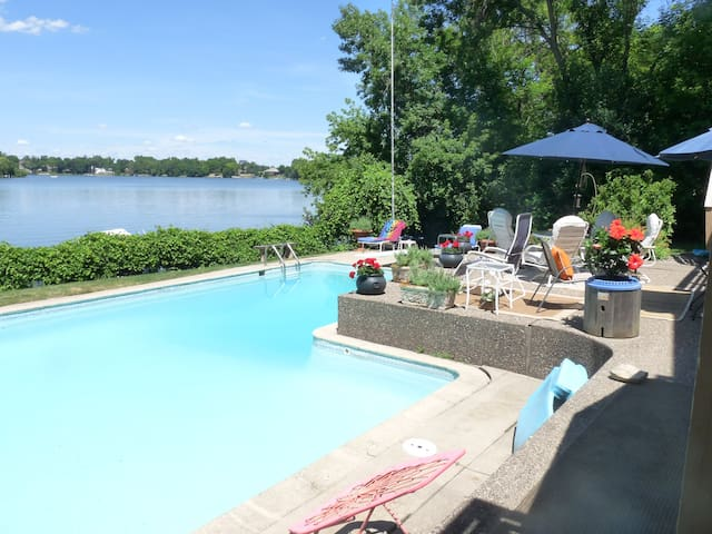 Resort Home on Bass Lake - In-ground Pool - Minneapolis