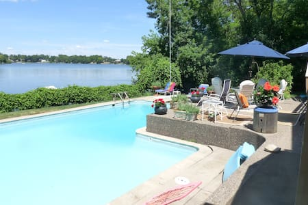Resort Home on Bass Lake - In-ground Pool - Minneapolis - House