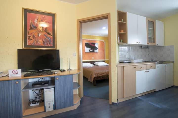 Apartment at Crni Baron B&B  1BR w/AC, Balcony