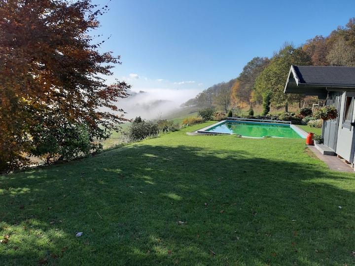 Ferienwohnung Weitblick  Büffel's Hof