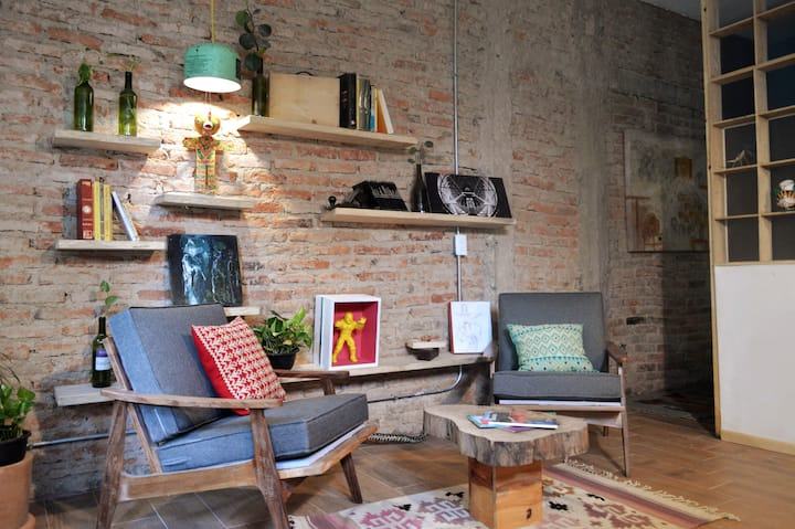 Cool new Studio in Chapultepec Area, check it out!