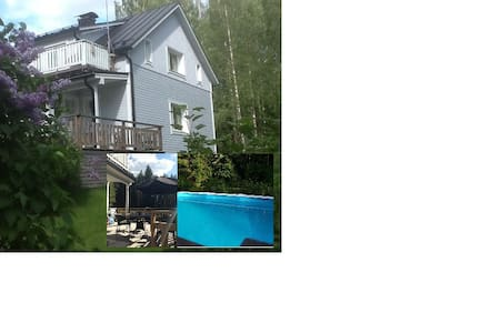 Large house - Heated swimming pool and 3 saunas - Kouvola