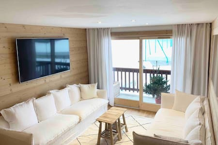 SKI IN SKI OUT New renovated 70m2 flat -Rond Point